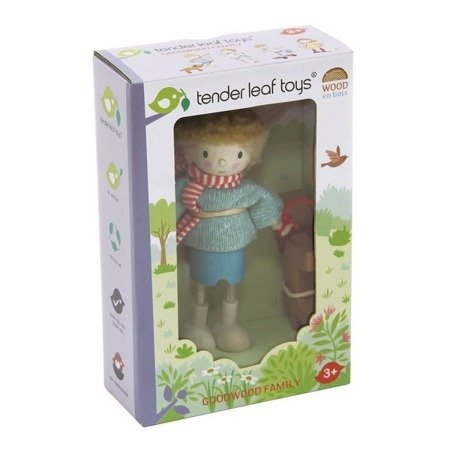 Laleczka Pan Goodwood i jego pies, Tender Leaf Toys